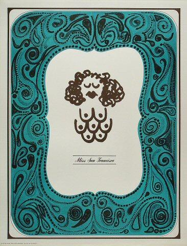 Miss San Francisco Poster