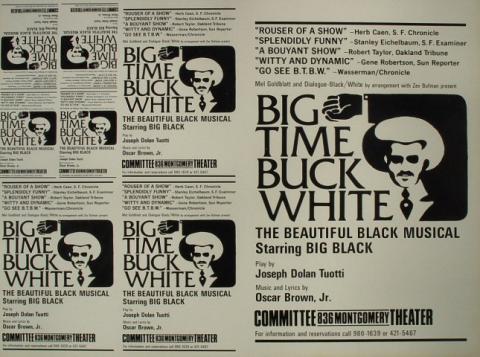 Big Time Buck White Proof