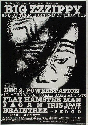 Flat Hamster Man Poster