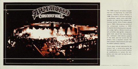 Armadillo Concert Hall Poster