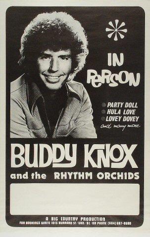 Buddy Knox Poster