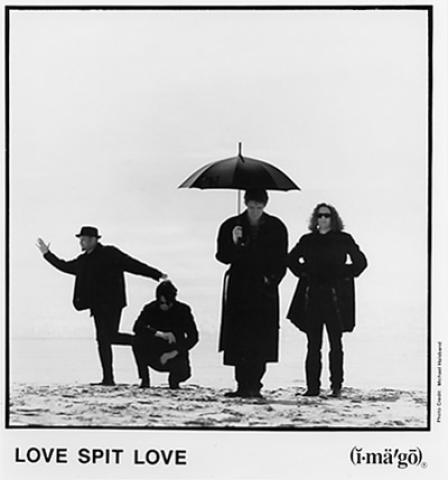 Love Spit Love Promo Print