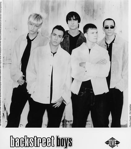 Backstreet Boys Promo Print