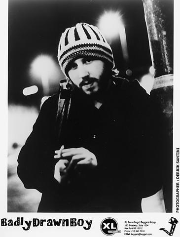 Badly Drawn Boy Promo Print