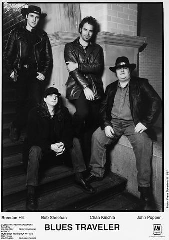 Blues Traveler Promo Print