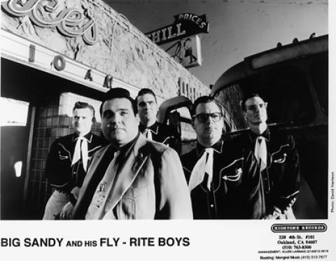 Big Sandy and His Fly Rite Boys Promo Print