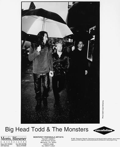 Big Head Todd & The Monsters Promo Print