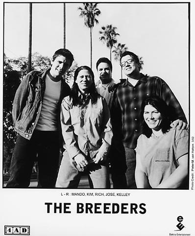 The Breeders Promo Print