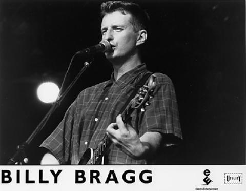 Billy Bragg Promo Print