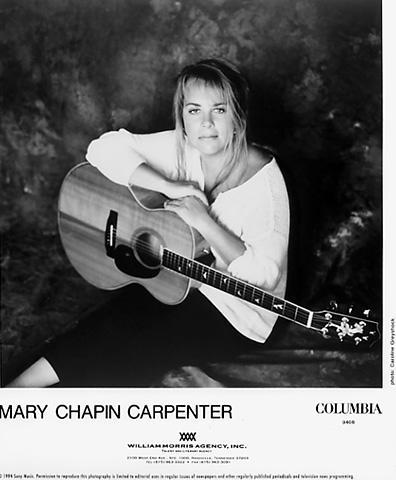 Mary Chapin Carpenter Promo Print
