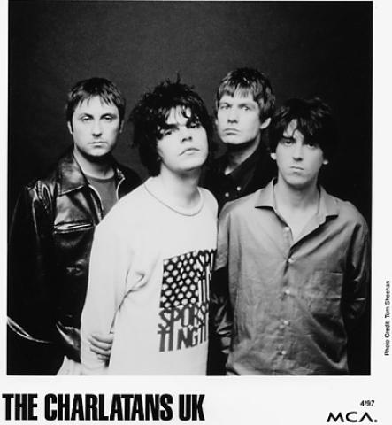 The Charlatans UK Promo Print