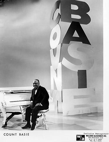 Count Basie Promo Print