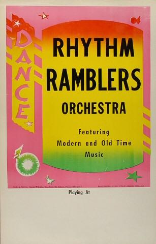 Rhythm Ramblers Orchestra Poster