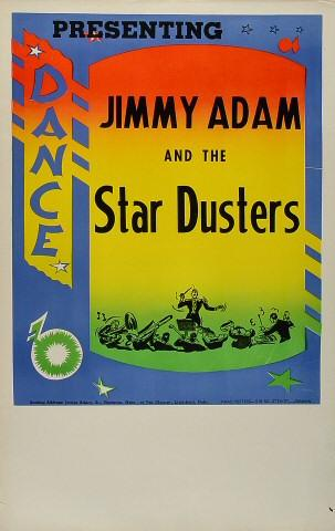 Jimmy Adam and the Star Dusters Poster