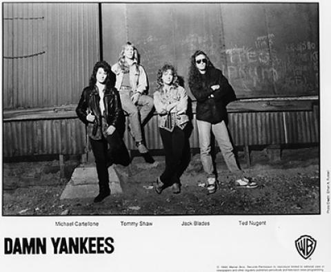 Damn Yankees Promo Print