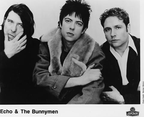 Echo & the Bunnymen Promo Print