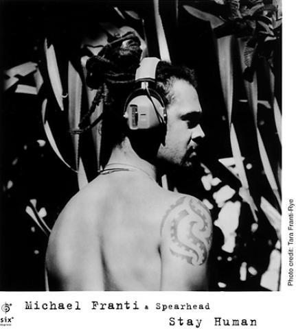 Michael Franti Promo Print