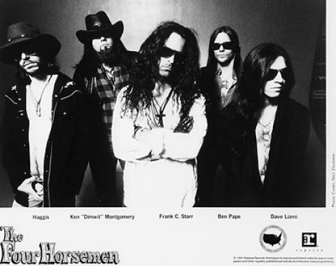 Four Horsemen Promo Print