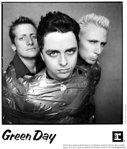 Green Day Promo Print