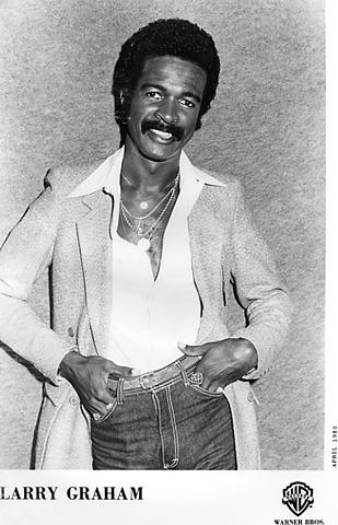 Larry Graham Promo Print