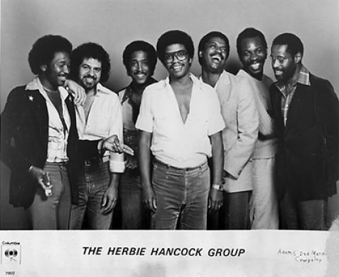Herbie Hancock Group Promo Print