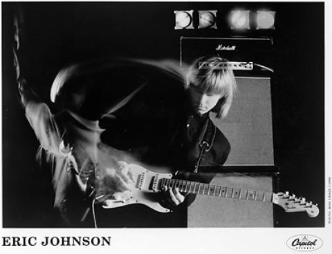 Eric Johnson Promo Print