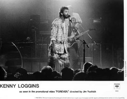 Kenny Loggins Promo Print