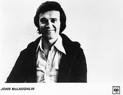 John McLaughlin Promo Print