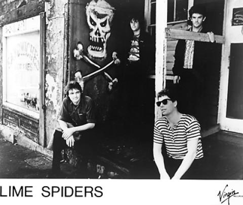 Lime Spiders Promo Print