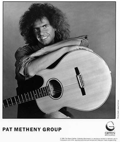 Pat Metheny Promo Print