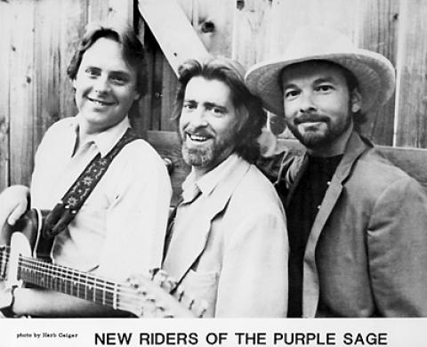 The New Riders of the Purple Sage Promo Print