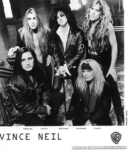 Vince Neil Promo Print