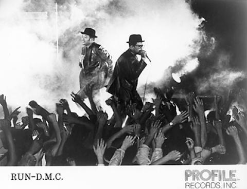 Run-D.M.C. Promo Print