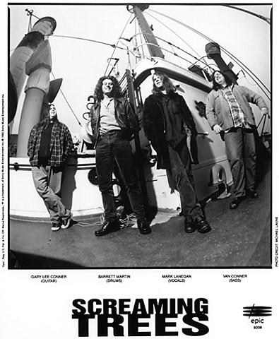 Screaming Trees Promo Print
