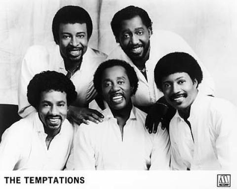The Temptations Promo Print