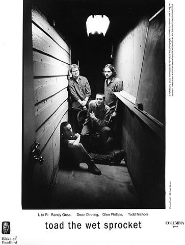 Toad The Wet Sprocket Promo Print