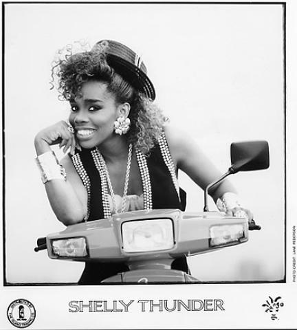 Shelly Thunder Promo Print