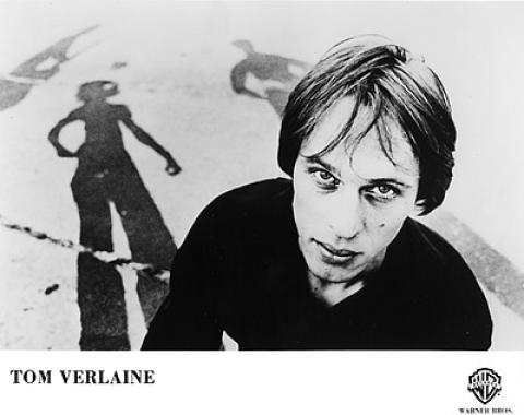 Tom Verlaine Promo Print