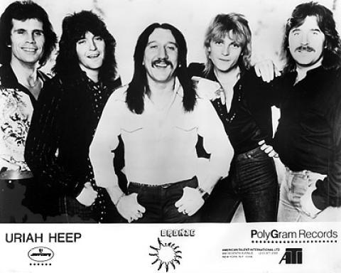 Uriah Heep Promo Print