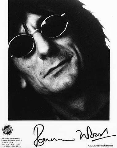 Ronnie Wood Promo Print