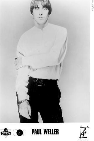 Paul Weller Promo Print