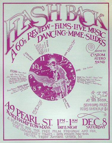 Flashback: A 60's Review Poster