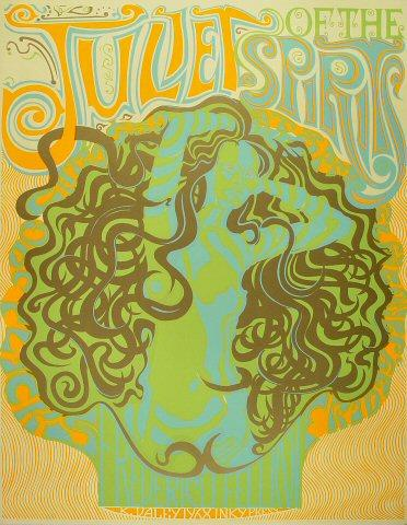 Juliet of the Spirits Serigraph