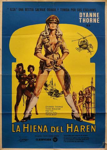 Ilsa: La Hienda Del Haren Poster