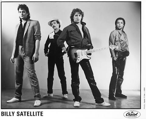 Billy Satellite Promo Print