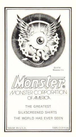 Monster Co. Handbill