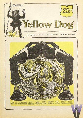 Yellow Dog Vol. 1, No. 8 Comic Book