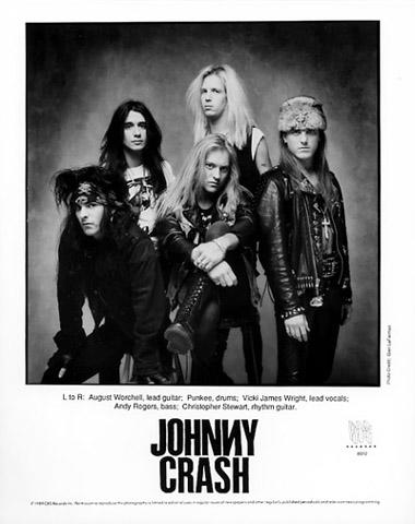 Johnny Crash Promo Print