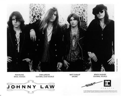 Johnny Law Promo Print