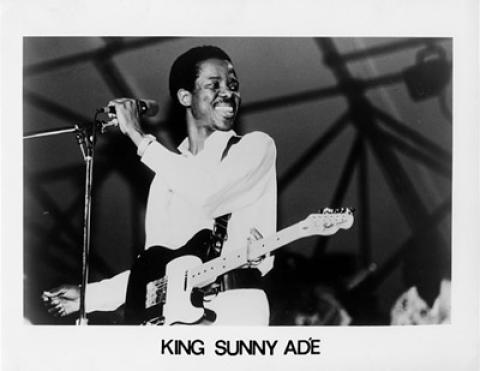 King Sunny Ade Promo Print